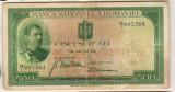 SV * Romania  500  LEI  1936 * Regele Carol II