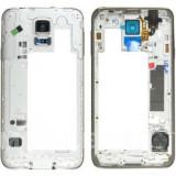 Carcasa mijloc Samsung Galaxy S5 G900 Construit Gri Swap A