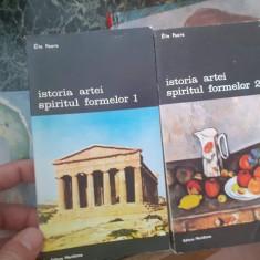 Istoria artelor. Spiritul formelor, 2 volume – Elle Faure