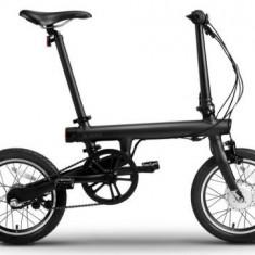 Bicicleta Electrica Xiaomi Mi QiCYCLE, Pliabila, Bluetooth, Motor 250 W, Viteza maxima 20 Km/h, Autonomie 45 Km (Negru)