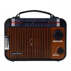 Radio boxa portabila Leotec LT-Q3 5W 4 benzi Maro