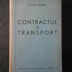 PAUL I. DEMETRESCU - CONTRACTUL DE TRANSPORT