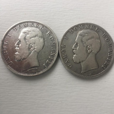 5 Lei 1880 Kullrich Sub Gat si Kullrich pe cerc