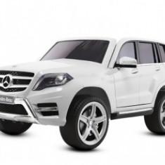 Masinuta electrica pentru copii Mercedes GLK350 Premium 2x35W 2X6V #Alb