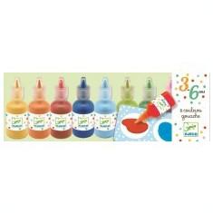 Set 8 culori guașe,Djeco