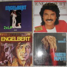 vinil Engelbert 25 bucata,Fausto Papetti 35 lei