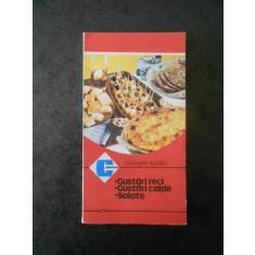 GEORGETA SEPTILICI - GUSTARI RECI, GUSTARI CALDE, SALATE