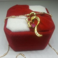 Colier Double Hearts