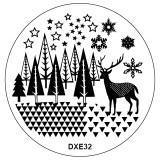 Matrita Unghii DXE32 Cer Instelat
