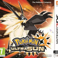 Joc consola Nintendo POKEMON ULTRA SUN pentru 3DS