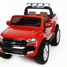 Masinuta electrica Ford Ranger Wildtruck 12V cu scaun de piele Red