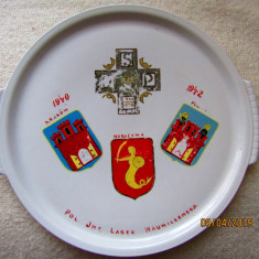 Lagarul Wauwilermoos 1940-1942/  Schweiz evreu polonez. D34cm/1300gr.