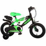 Cumpara ieftin Bicicleta Sportivo Verde 12 inch cu 2 Frane de Mana si Sticla Apa