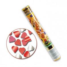 Tun confetti Inimioare 40 cm