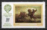 România - 1968 - LP 673 - A XV-a Trienală de Vânătoare - serie completă MNH, Nestampilat