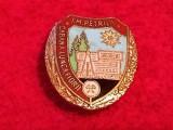 """Insigna minerit-Turism - INTREPRINDEREA MINIERA PETRILA """"Cabana LUNCA FLORII"""""""
