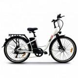 Bicicleta electrica 250W, Li-Ion 36V 10.4Ah, cadrul aluminiu, Kuba XT-1