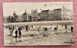 Ostende Concurs de construit castele de nisip pe plaja -  Necirculata, Belgia, Fotografie