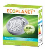 Aplica LED 6W rotunda lumina rece