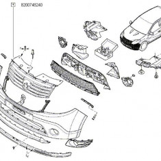Grila Radiator Logan Facelift Renault 8200748240