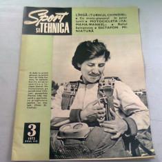 REVISTA SPORT SI TEHNICA NR.3/1973