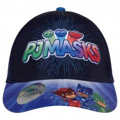 Sapca PJ Masks 52cm (3-6/7 ani), bleumarin/albastru