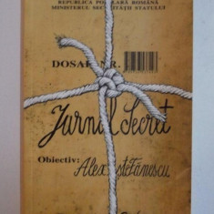 JURNAL SECRET de ALEX STEFANESCU , 2005 , ILUSTRATII de ION BARBU