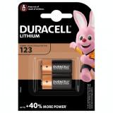 Baterie litiu Duracell DL123A CR123A EL123A 2 Baterii /Set