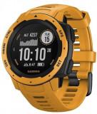 Ceas activity tracker Garmin Instinct, GPS, Rezistent la apa, Bluetooth (Portocaliu)