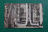 20ADE - Vedere - Carte postala - Manastirea de la Curtea de Arges - interios