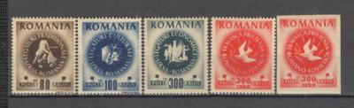 Romania.1946 Congresul ARLUS  XR.122 foto