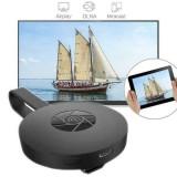 Cumpara ieftin Smart TV stick, adaptor wireless, streaming media player, negru