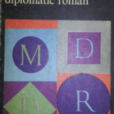 MIC DICTIONAR DIPLOMATIC ROMAN - CRISTIAN ALEXANDRESCU , OCTAVIAN BARBULESCU