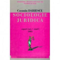 Sociologie juridica - Suport curs - Anul I