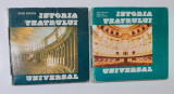 Ileana Berlogea - Istoria Teatrului Universal Vol. 1 + Vol. 2 (vezi descrierea)