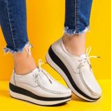 Pantofi dama piele naturala bej Tunivia-rl