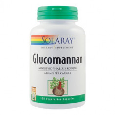 Glucomannan 600mg, 100cps, Solaray
