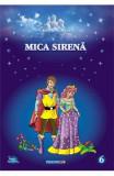 Mica sirena. Carte de colorat cu povesti