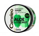 Cumpara ieftin Masca pentru par fragil si uscat Delia Cameleo cu extract de Aloe si Cocos, 200 ml, Delia Cosmetics
