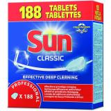 Tablete pentru Masina de spalat vase  Professional Sun Clasic 3 in 1, 188 Tabs