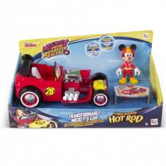 Masinute transformabile + figurine asortate - Mickey Mouse