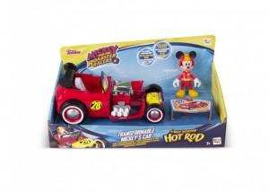 Masinuta transformabila cu figurina - Mickey Mouse