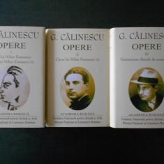 GEORGE CALINESCU - OPERE  3 volume, Editie de lux, Academia Romana