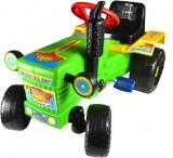 Tractor cu pedale pentru copii, 75 x 45 x 50 cm, diverse culori
