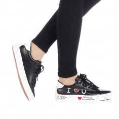 Pantofi sport dama Zediani negri