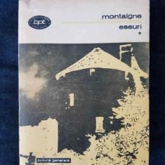 Montaigne – Eseuri