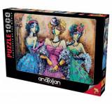 Cumpara ieftin Puzzle Anatolian Ladies Party, 1000 piese