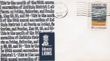 Plic LIONS CLUB, Peoria, S.U.A., 22 Mai 1970