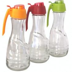 Sticla pentru ulei,otet M-151086 culoare rosie Raki