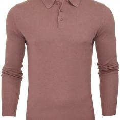 Bluza polo bumbac Brave Soul barbati, roz, marimea L